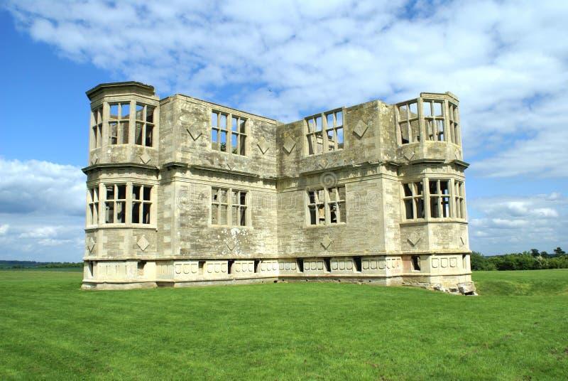 Ruins. Lyveden New Bield, Benfelied, England stock image