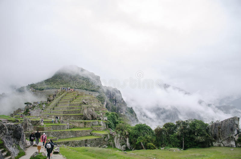 Ruins of Machu Picchu royalty free stock image