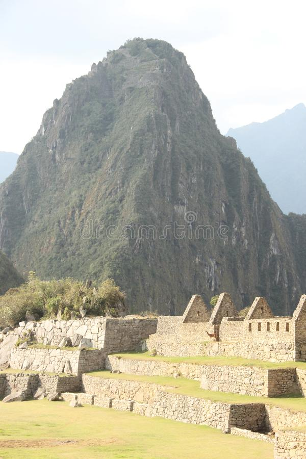 The ruins of Machu Picchu royalty free stock images