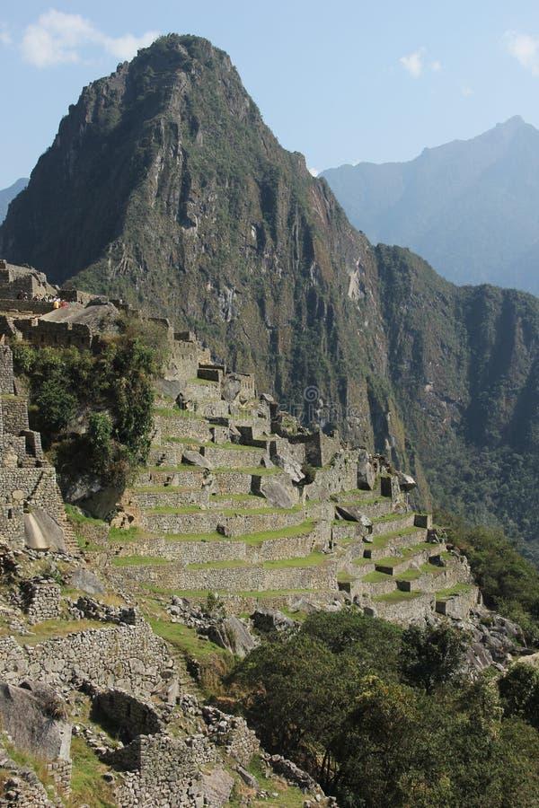 The ruins of Machu Picchu stock photos