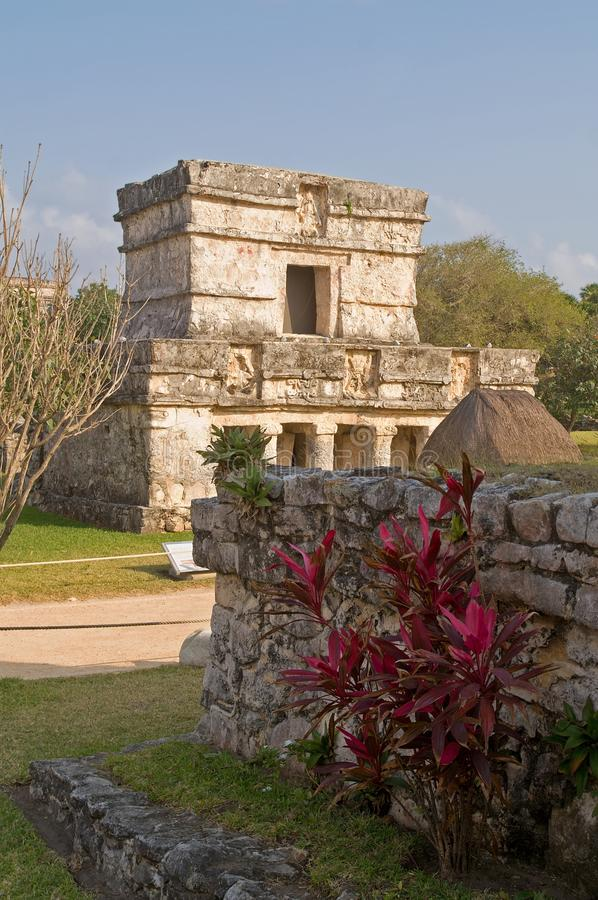 Download Ruins At The Mayan Site Of Tulum, Mexico Royalty Free Stock Photos - Image: 14701868