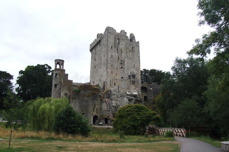 Blarney Castle and adjacent park royalty free stock photos