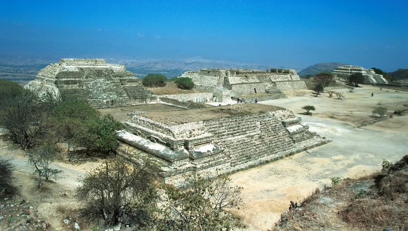 Download Ruins of Monte Alban. stock photo. Image of alban, mexico - 5957940