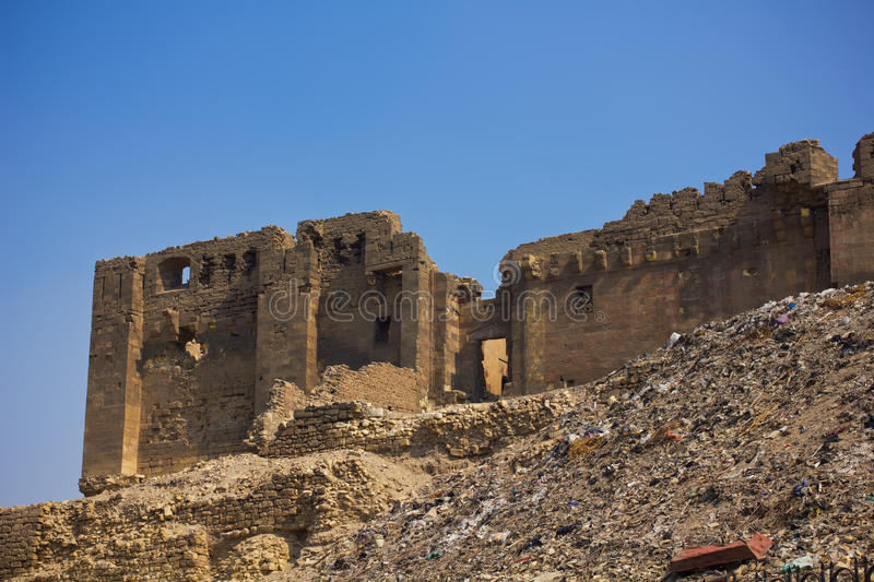 Download Ruins Near Citadel In Cairo Stock Image - Image: 23777321