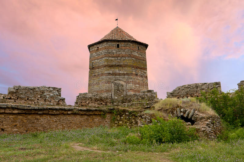 Download Ruins Of Old Fortress Royalty Free Stock Images - Image: 23887729