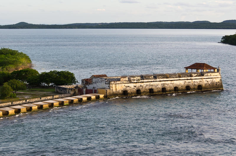 Download Ruins of old Spanish fort stock image. Image of transportation - 23270807