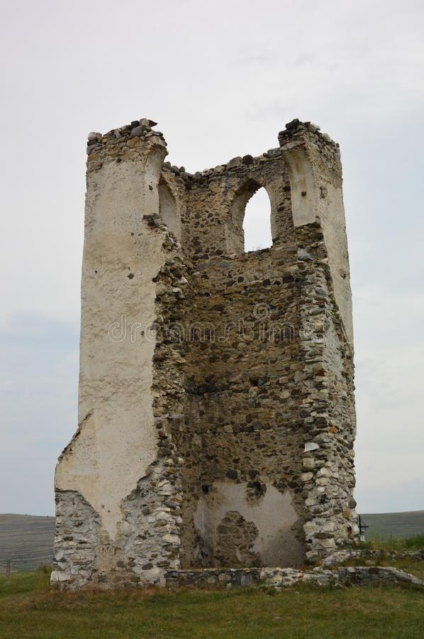 Download Ruins Of A Stone Made Tower Stock Image - Image of made, ruins: 115506449