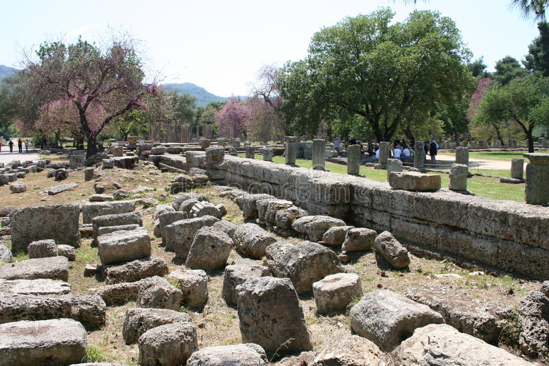 Download The Ruins Of Olympia, Greece Stock Photo - Image: 25437844