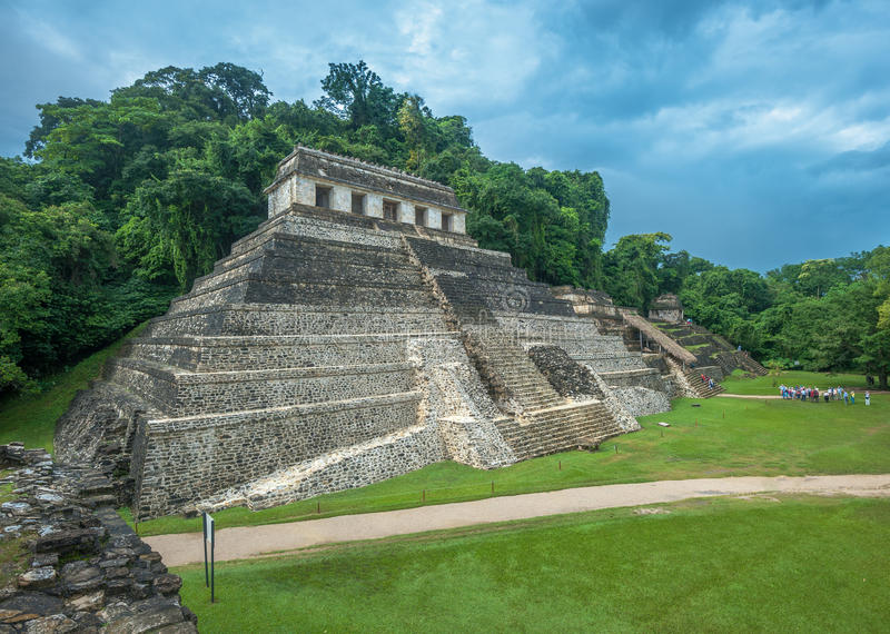 Download Ruins of Palenque, Mexico stock photo. Image of palenque - 36859076