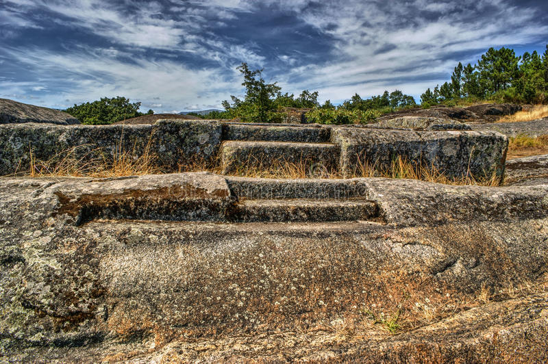 Download Ruins Of Panoias, An Ancient Roman Temple Stock Image - Image of heritage, portugal: 84882013