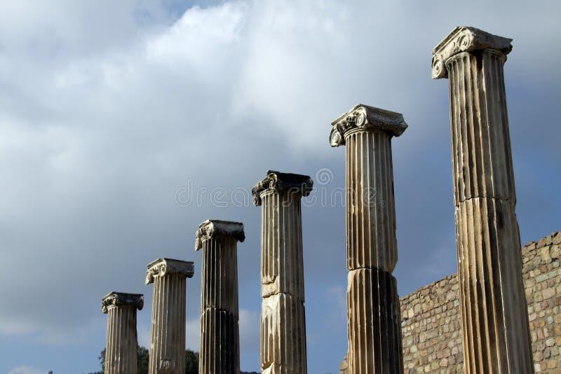 Ruins of Pergamum 1 royalty free stock photography