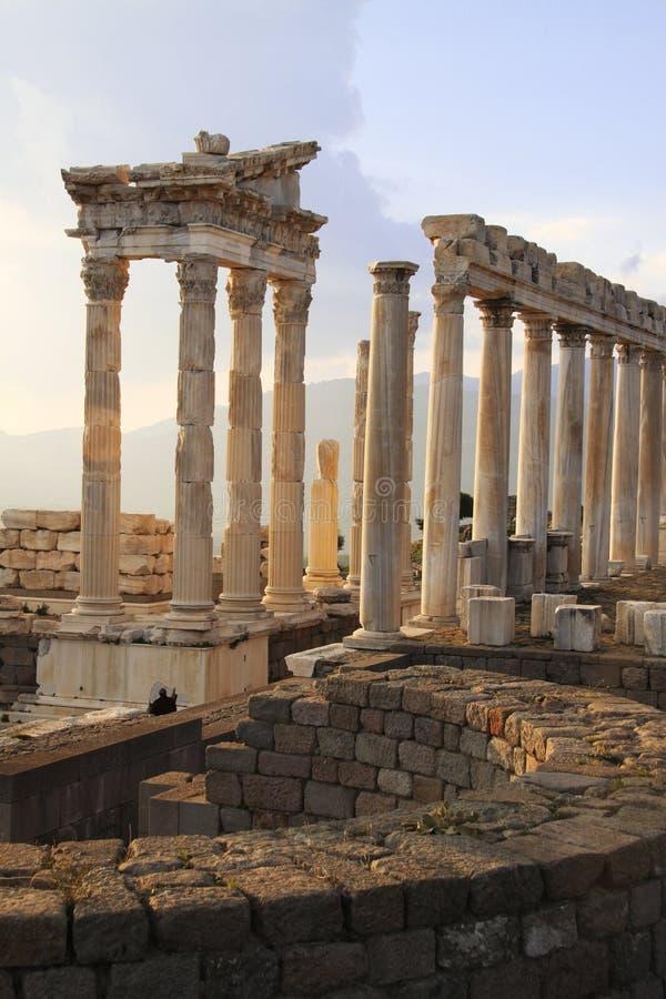 Ruins of Pergamum 3 royalty free stock images