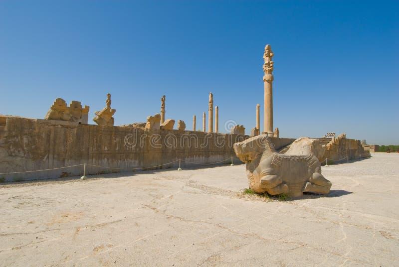 Download Ruins of of Persepolis stock photo. Image of antiquities - 4685684