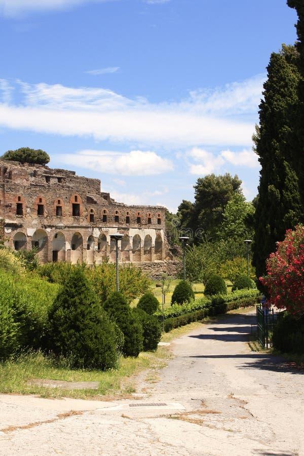 Ruins of Pompeii royalty free stock photos