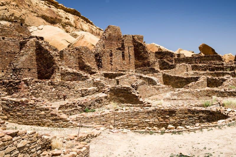 Ruins at Pueblo Bonito royalty free stock photography