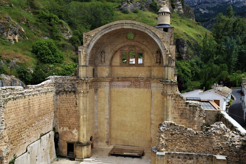 The ruins of Santa María in Cazorla. The ruins of Santa Maria in the village of Cazorla, in the province of Jaén. Andalucía, Spain. Also known as Santa stock photo