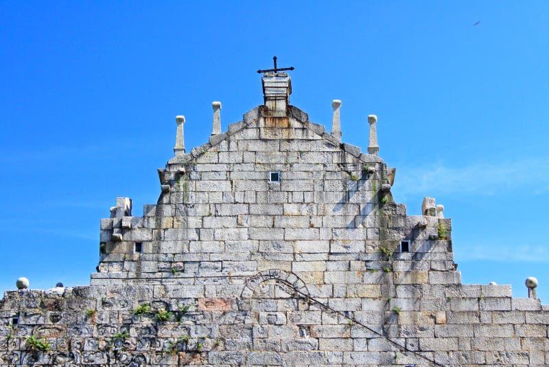 Ruins Of St. Paul, Macau, China, UNESCO World Heritage Site stock image