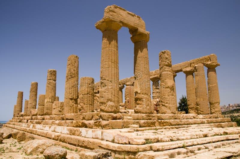 Download The Ruins Of Temple Of Hera (Juno) Lacinia Stock Photo - Image: 15139674