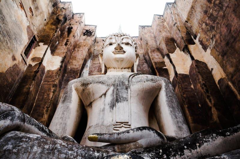 Ruins temple Sukothai historical park, Unesco world heritage, Thailand, royalty free stock photos