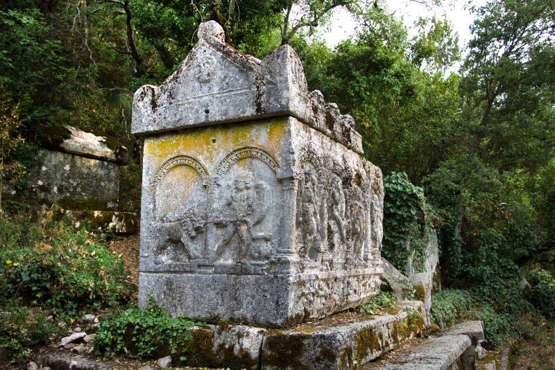Ruins of Termessos near Antalya, Turkey stock photography