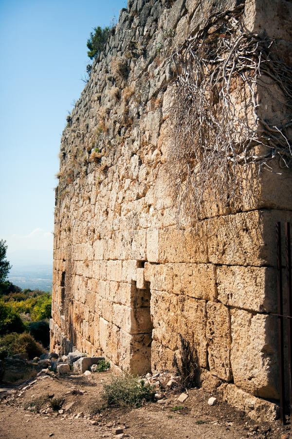 Ruins of Tlos royalty free stock images