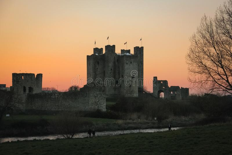 Trim Castle. county Meath. Ireland stock photo