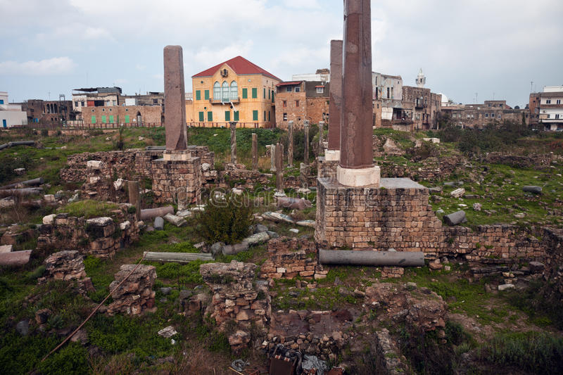 Download Ruins In Tyre Stock Images - Image: 24142314