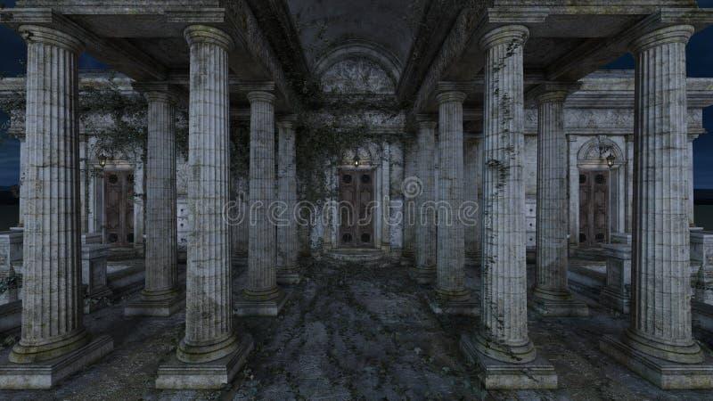 ruiny ilustracji