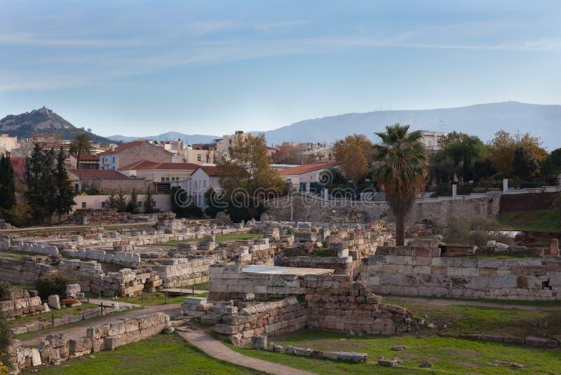 Ruiny antyczny Grecja fotografia royalty free