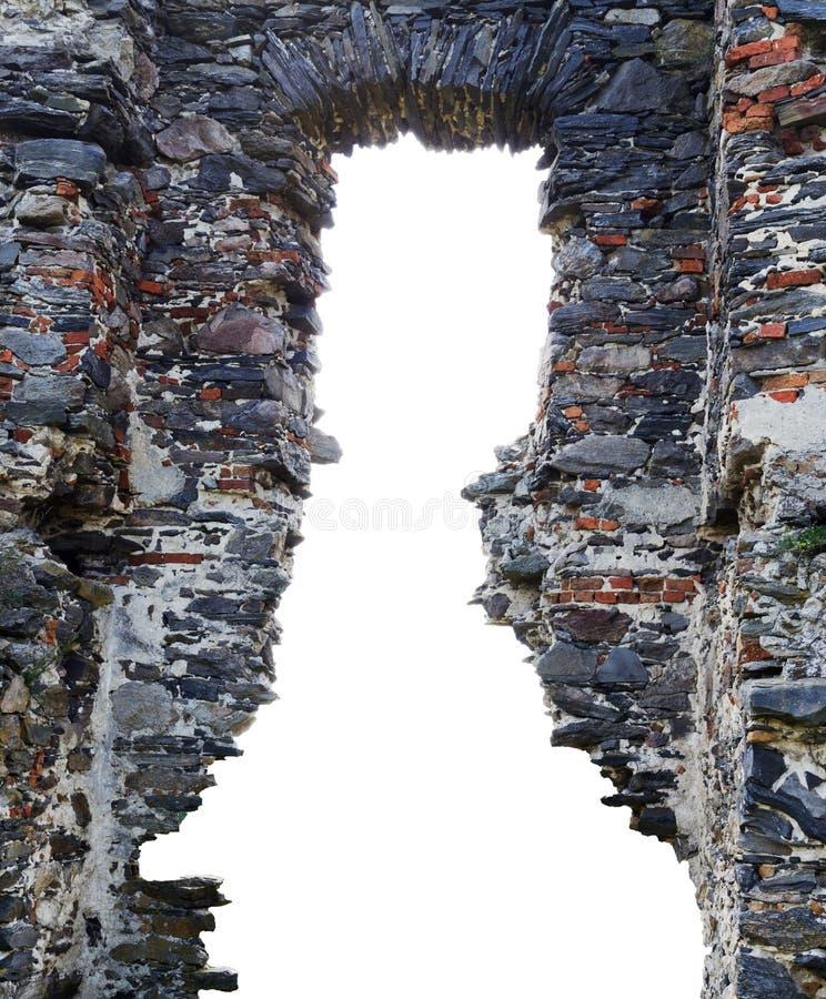Ruiny antyczny kasztel fotografia royalty free