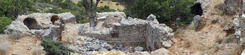 Ruiny antyczny Lissos obrazy royalty free