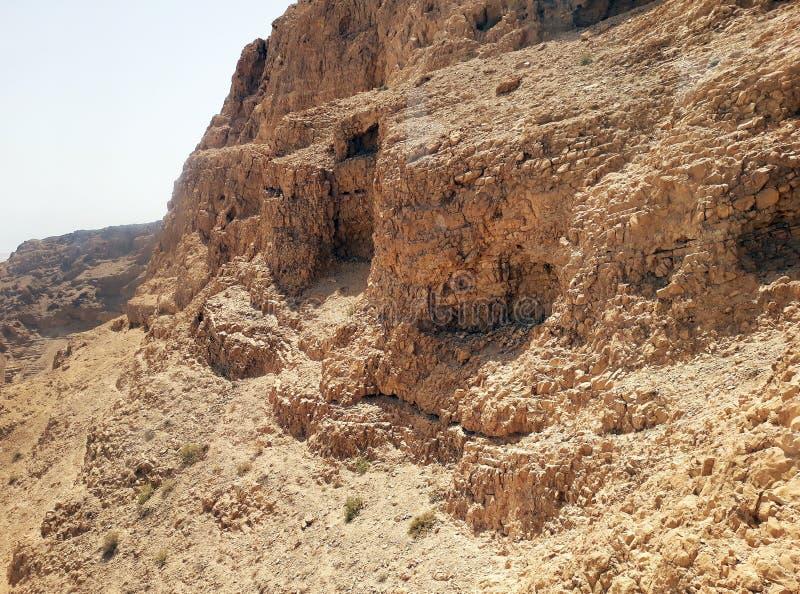 Ruiny antyczny Masada, Południowy okręg, Izrael obraz stock