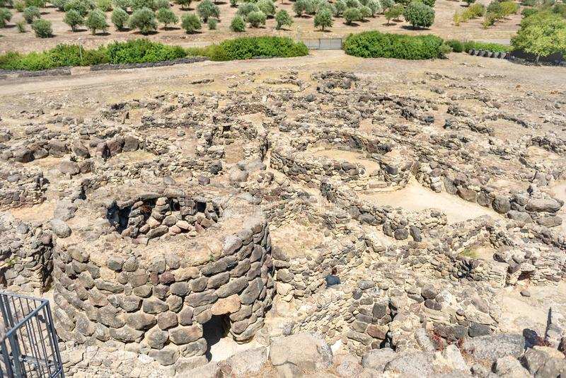 Ruiny antyczny miasto obrazy royalty free