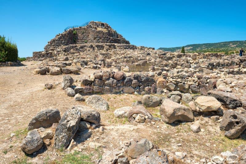 Ruiny antyczny miasto obrazy stock