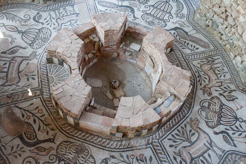 Ruiny antyczny miasto, Stobi obrazy stock