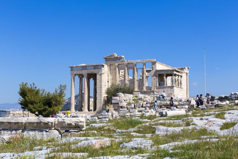 Ruiny Aphrodite świątynia obraz stock