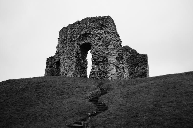 Christchurch kasztelu ruiny obrazy royalty free