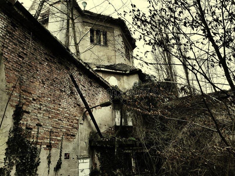 Ruiny crematorium zdjęcia royalty free