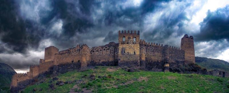 Ruiny dawność Magiczny forteca, Gruzja, May 2017 obrazy stock