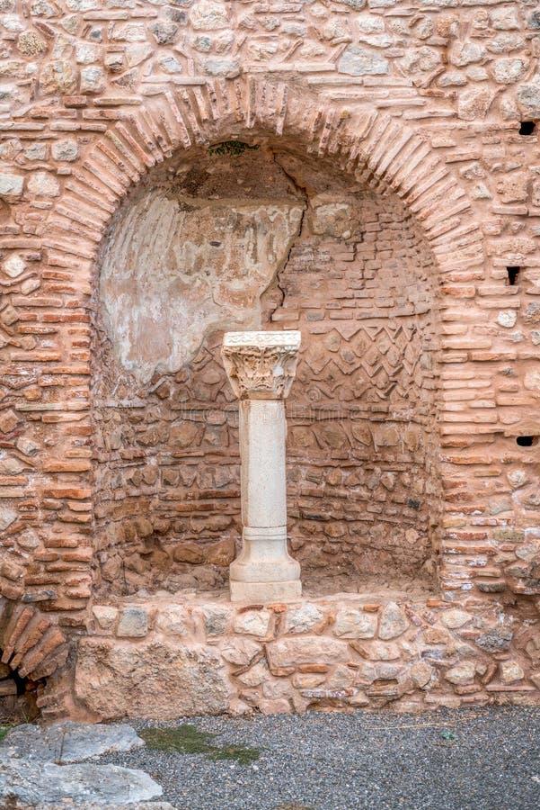 Ruiny Delphi, Grecja obraz royalty free