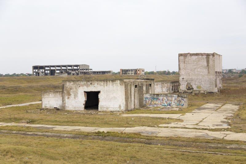 ruiny fabryczne zdjęcia royalty free