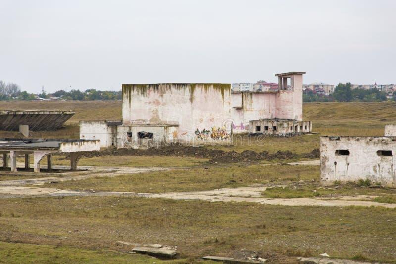 ruiny fabryczne zdjęcie stock