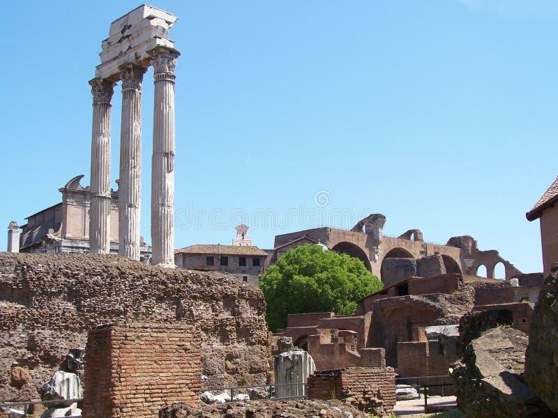 Ruiny forum, Rzym fotografia stock
