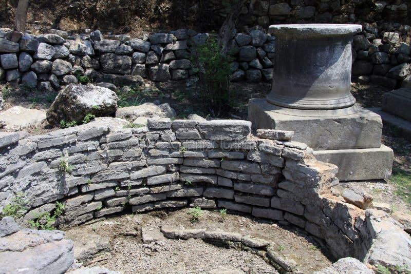 Ruiny Kaunos 3 obrazy stock