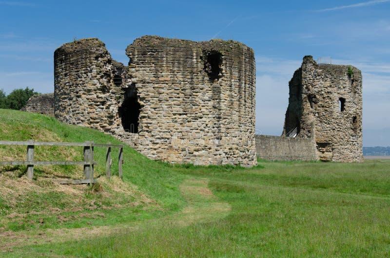 Ruiny krzemienia kasztel obrazy royalty free