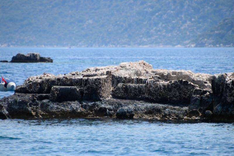 Ruiny miasto Mira, Kekova obrazy royalty free