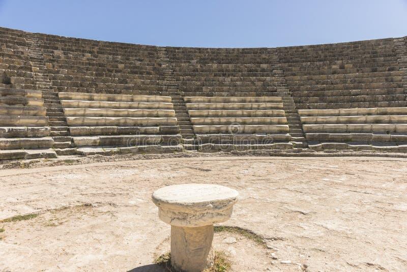 Ruiny miasto salami w Famie, Cypr zdjęcia royalty free
