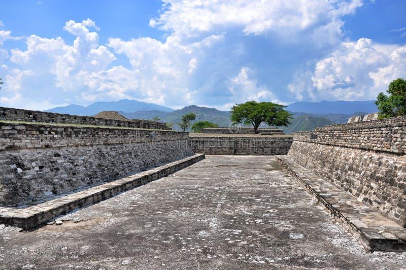 Ruiny Mixco Viejo, Gwatemala obrazy stock