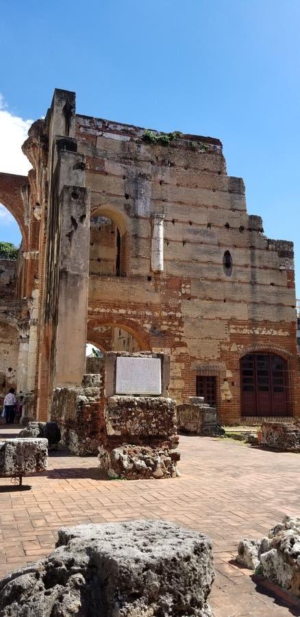Ruiny monaster San Francisco i kościół obrazy royalty free