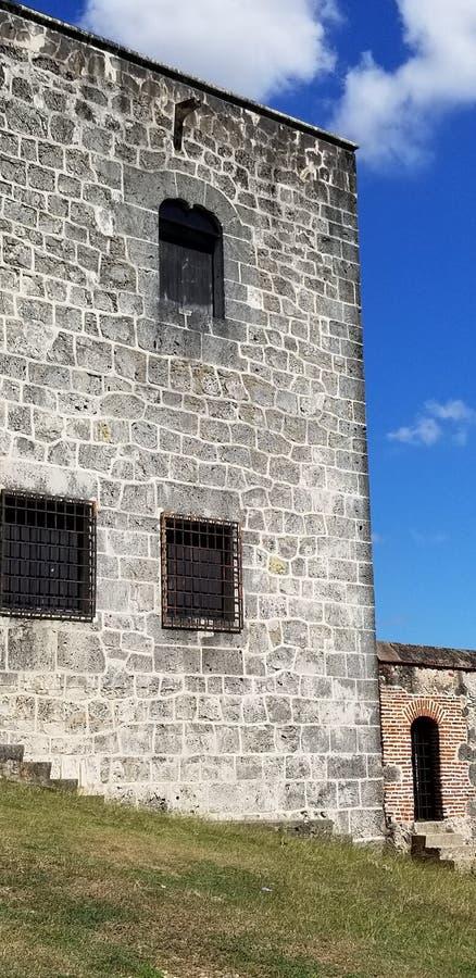 Ruiny monaster San Francisco i kościół zdjęcie royalty free